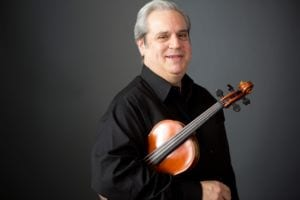 Violinist Ronnie Bauch (with Orpheus since 1975).
