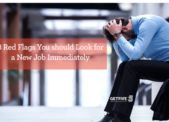 8 red flags look for new job