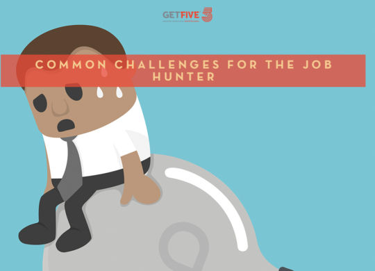 common challenges for job hunter