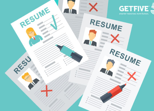 Cv writing. Recruiters woman chooses to work. Gender advantage in hiring Assessment of the applicant skills. Flat vector cartoon illustration. Objects isolated on a white background.